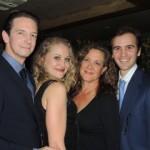 Edwin Cahill, Gardner Reed, Karen Ziemba, Andy Sandberg, Photo: Magda Katz